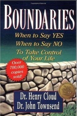 Boundaries When to say yes when to say no