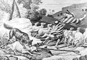 hireling Good Shepherd Sacrifices
